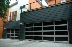 contemporary style glass garage door oakland ca